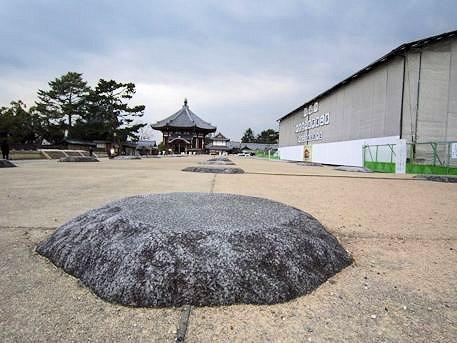 興福寺中金堂再建中