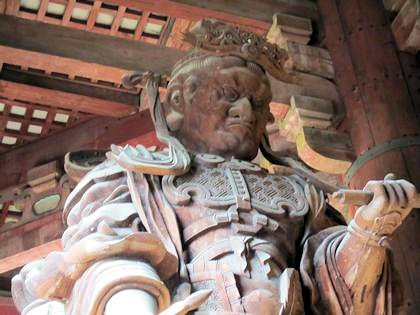 東大寺の広目天