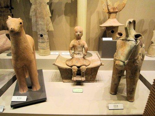 橿原考古学研究所附属博物館の展示品