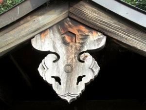 三十八柱神社の懸魚