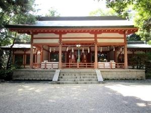 売太神社拝殿