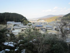 the view from Syorinji Temple