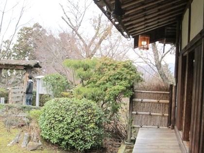 吉水神社書院の縁側