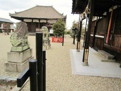 入鹿神社と正蓮寺大日堂