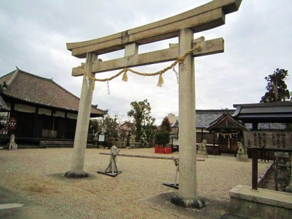 正蓮寺大日堂と入鹿神社