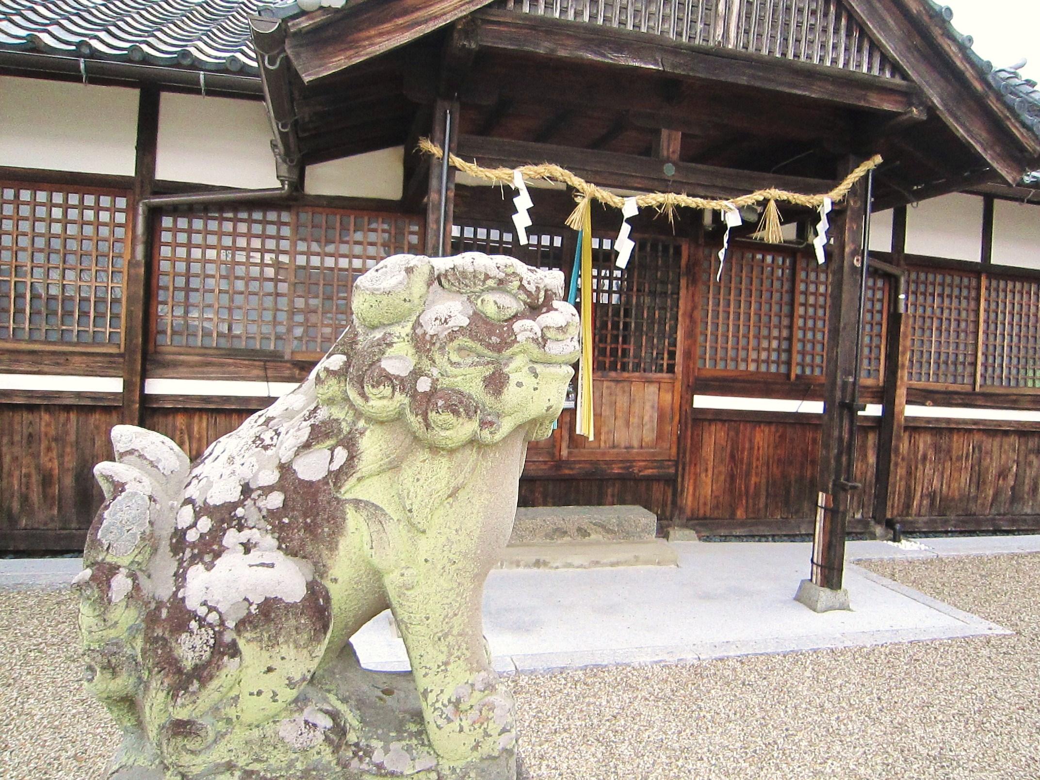 入鹿神社の狛犬