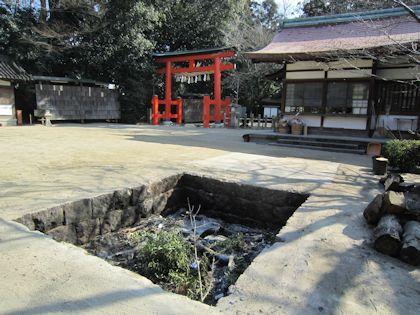 広瀬神社のとんど