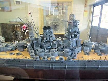 戦艦大和展示室の戦艦ヤマト