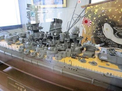 戦艦大和の模型