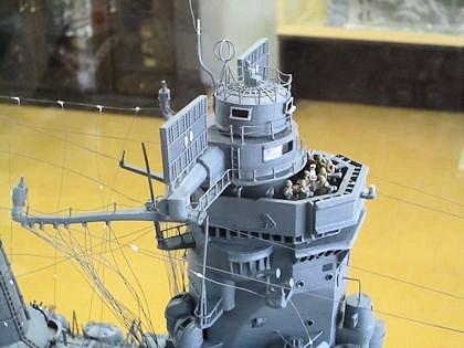 戦艦大和の見張り台
