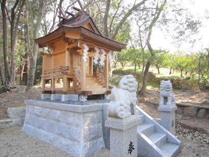 相撲神社本殿