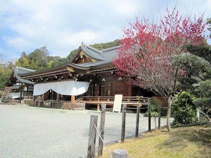 3月初旬の大神神社祈祷殿