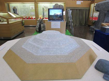 明日香村埋蔵文化財展示室の復元模型