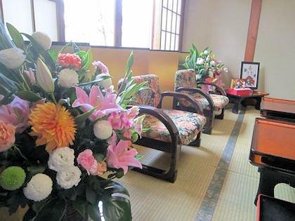結婚披露宴の花