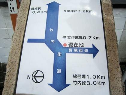 長尾神社周辺地図