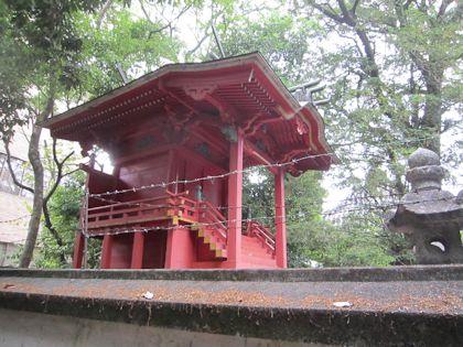 柿本神社本殿