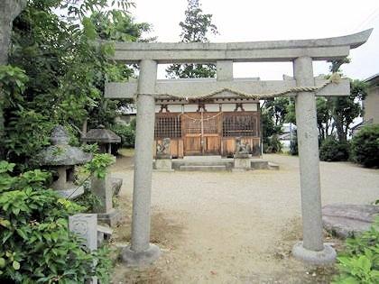 脇田神社鳥居