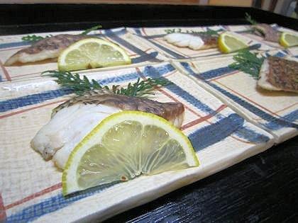 マツダイの塩焼き