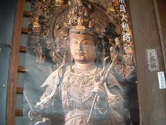 安倍文殊院の文殊菩薩像