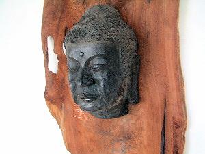 飛鳥寺の仏頭