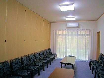 橿原神宮儀式殿の控室