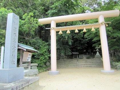 笛吹神社の鳥居