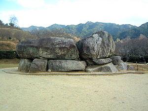 明日香村島庄の石舞台古墳