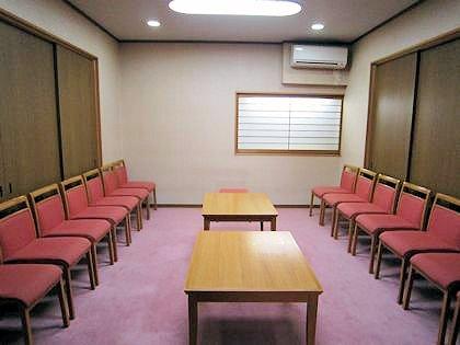 神楽殿の控室