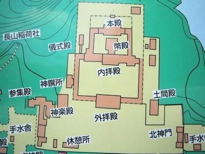 橿原神宮の境内地図