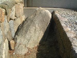 達磨寺の問答石
