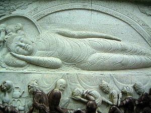涅槃のお釈迦様