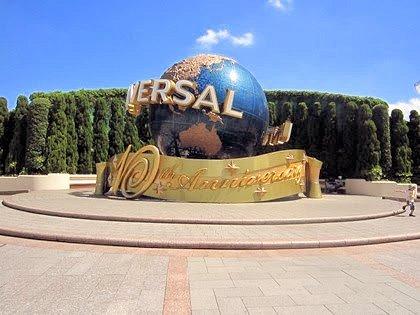 USJ10周年記念地球儀