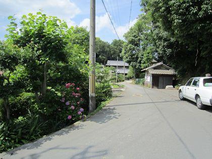 日本武尊白鳥陵前のタクシー