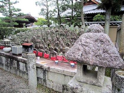 大徳寺の千躰地蔵塚