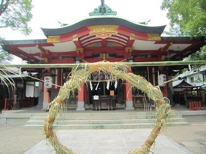 御霊神社の茅の輪神事