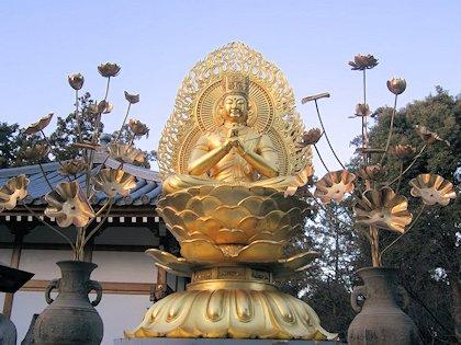 久米寺の大日如来坐像