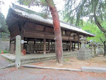 今宮神社の絵馬舎