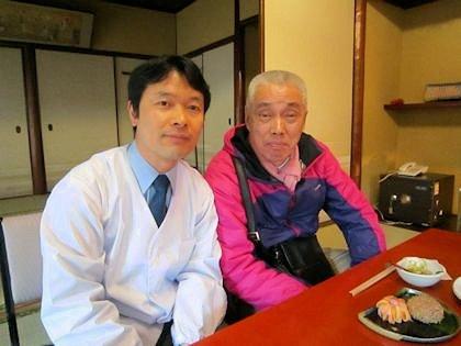 大正楼主人と妹尾和夫さん