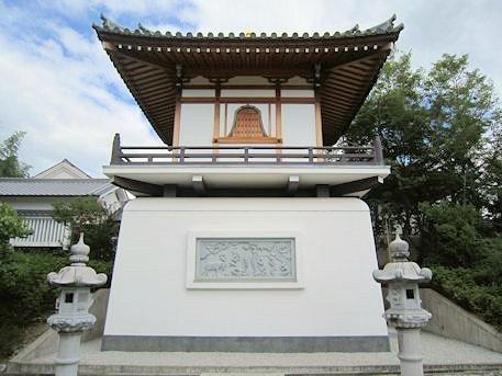 帯解寺の新御堂
