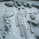 岡寺の仏伝レリーフ