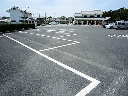 唐招提寺駐車場