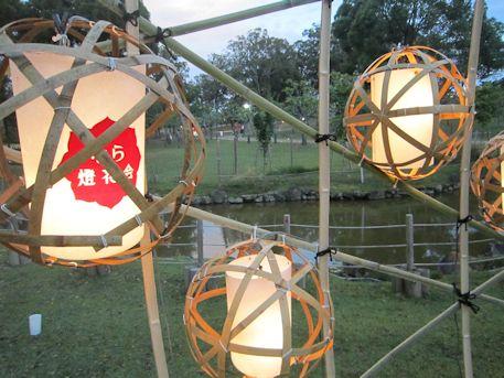 なら燈花会の提灯