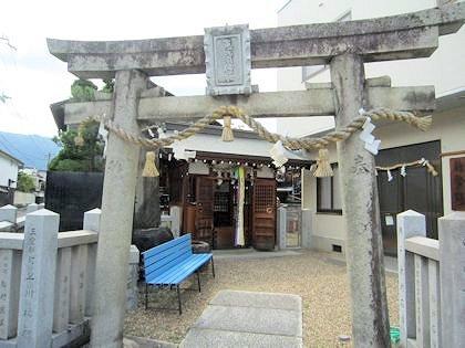 御所恵比須神社の鳥居