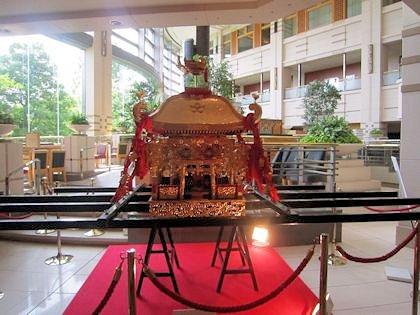 天神祭の鳳神輿