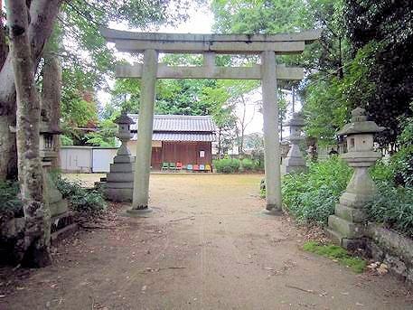 森神社の鳥居