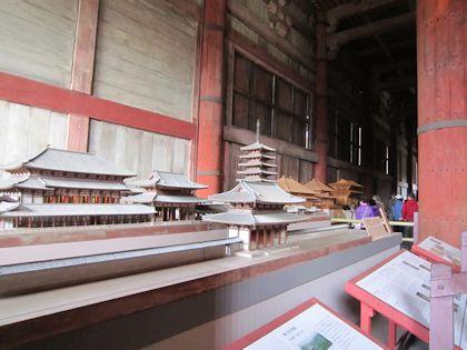 東大寺の模型