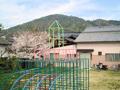 三輪公園と三輪山