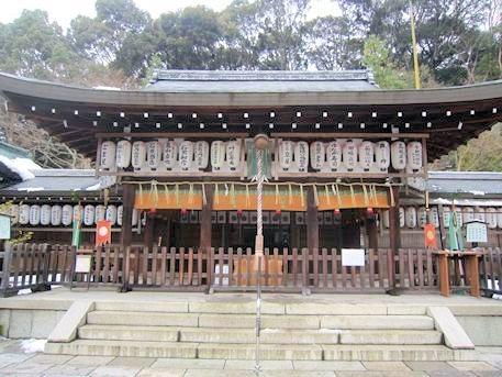 熊野若王子神社拝殿