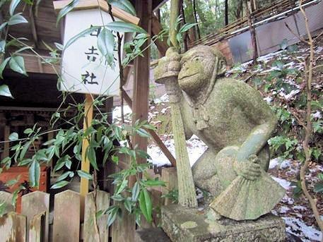 日吉社の狛猿