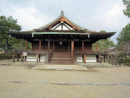 法隆寺の三経院